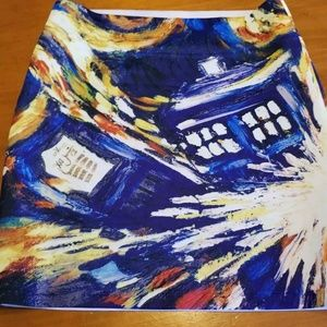 Doctor who skirt small -- gorgeous e15